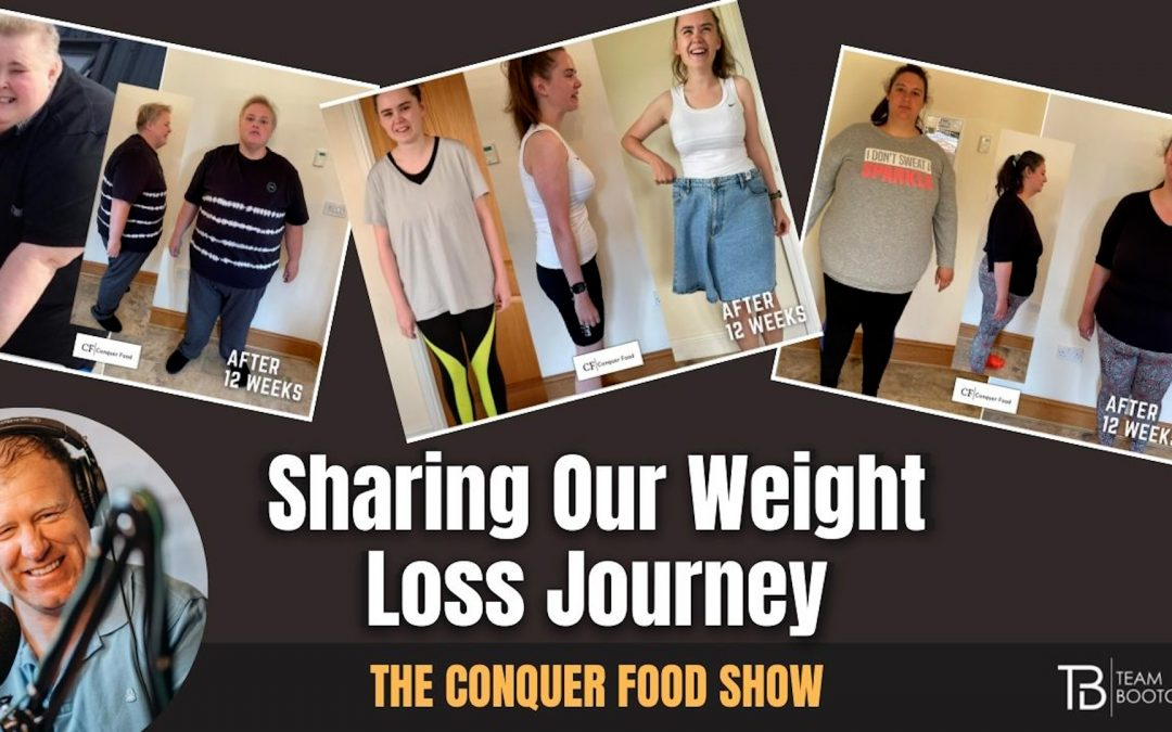 Sharing our weight loss journey | Joe, Sam & Izzy