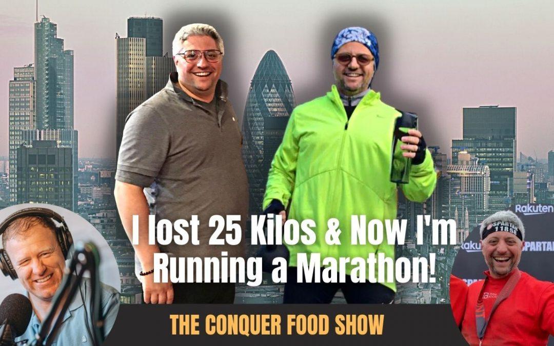 I lost 25kg & now I'm running a marathon | Amazing transformation with Stefano Mancini