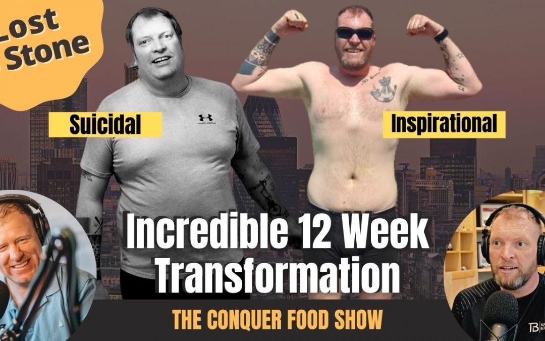 Suicidal to Inspirational Trainer | Losing 5 Stone in 12 Weeks With Chris Sharpe